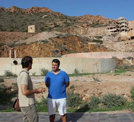 Ante el Patrimonio Industrial Minas de oro Rodalquilar Moises Palmero y Pablo RivasPN Cabo d eGata Níjar