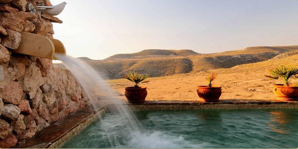 La piscina fenicia de La Joya en Aguamarga