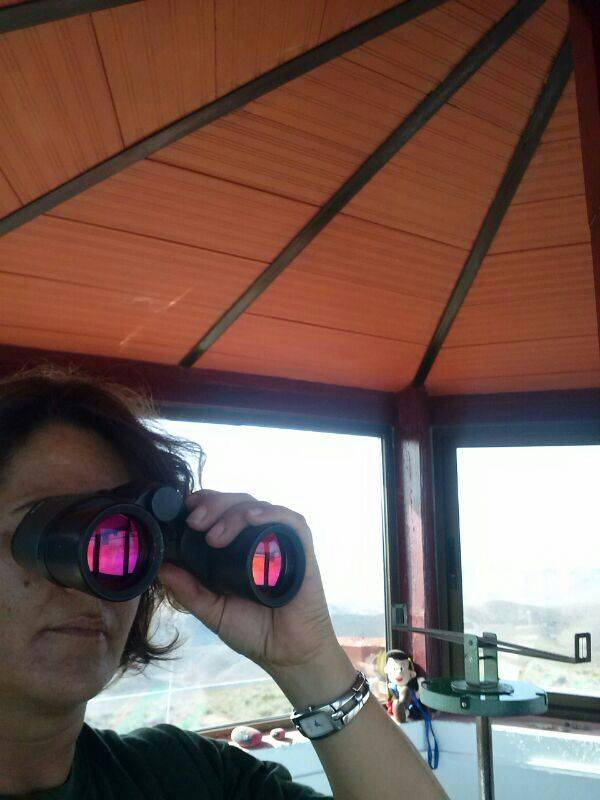 Maria Gil Vigilancia de Incendios Parque Natural Cabo de Gata Nijar