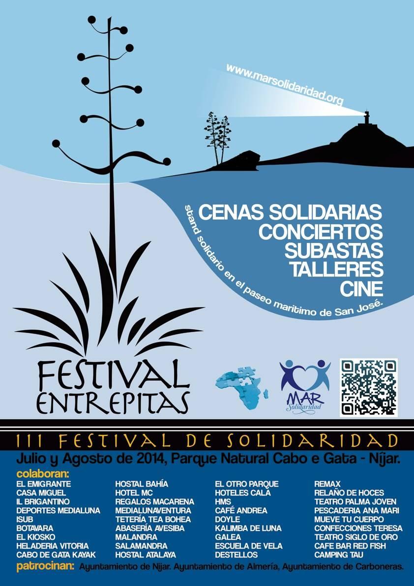 Cenas Solidarias Entrepitas 2014 PN Cabo de Gata Níjar