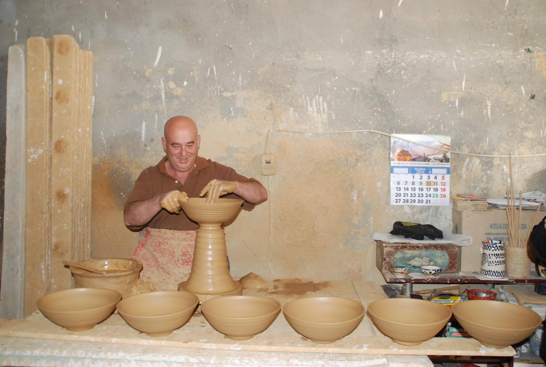 Taller de Rafael Granados Punto de Interés Artesanal en Níjar