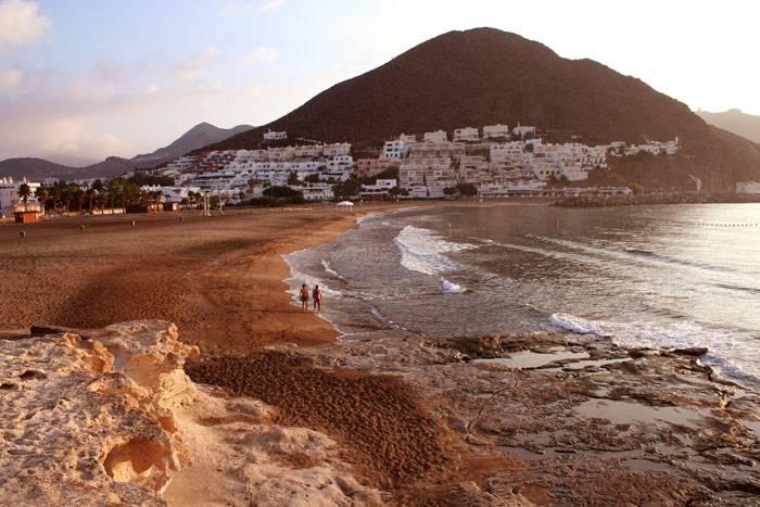 Amanecer Playa San Jose Cabo de Gata