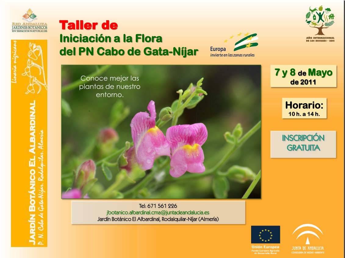 Taller Flora Parque Natural Cabo de Gata