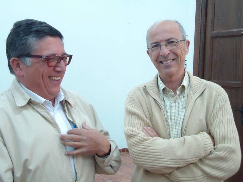 Antonio Gil Albarracin y Francisco Torres Montes