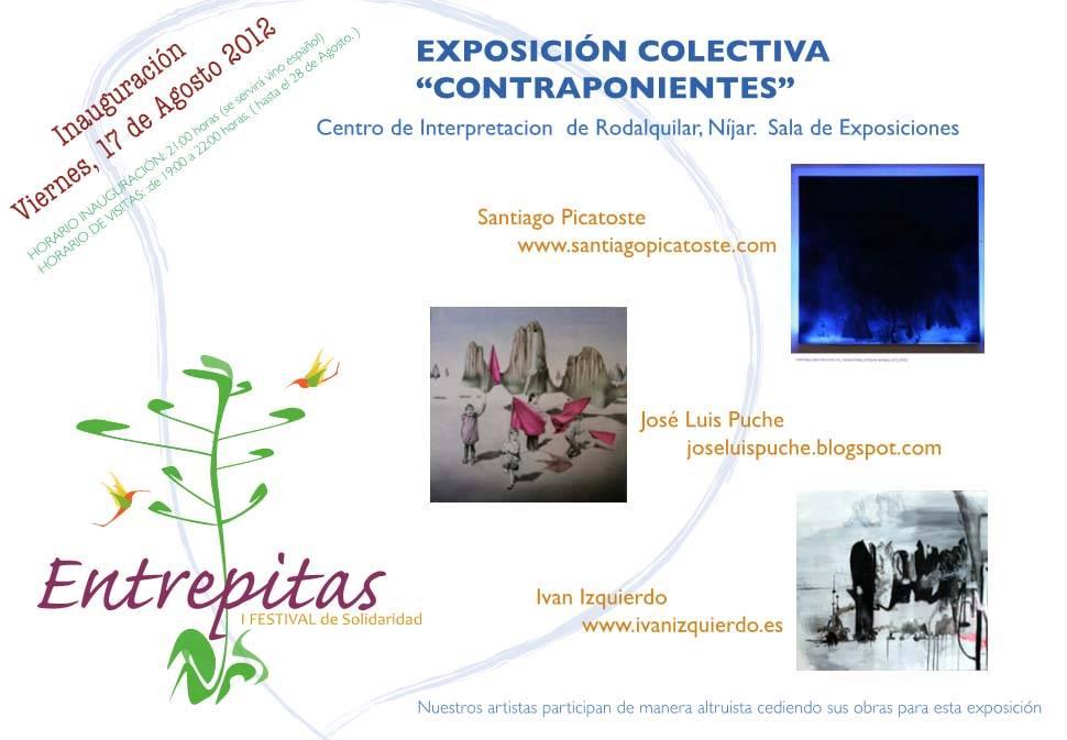 ENTREPITAS EXPOSICION CONTRAPONIENTES RODALQUILAR CABO DE GATA