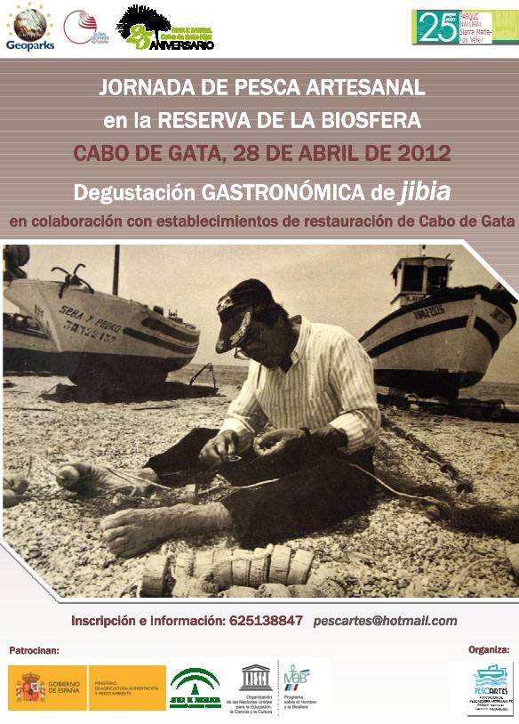 Cartel Degustacion Jibia Cabo de Gata