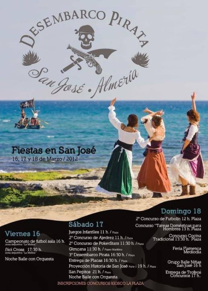Desembarco Pirata en Playa San Jose Cabo de Gata