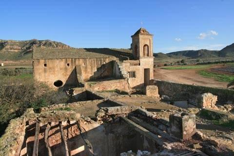 Cortijo del Fraile y Camino Barranco Requena