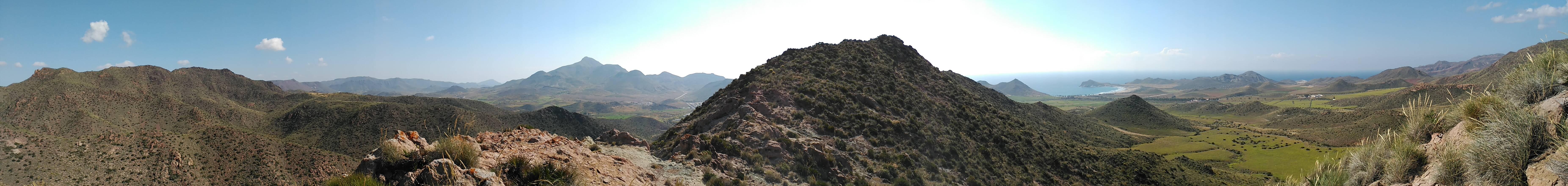 Cumbreando Sierra de Gata - Fotografía Santiago Domenech - Parque Natural Cabo de Gata Níjar