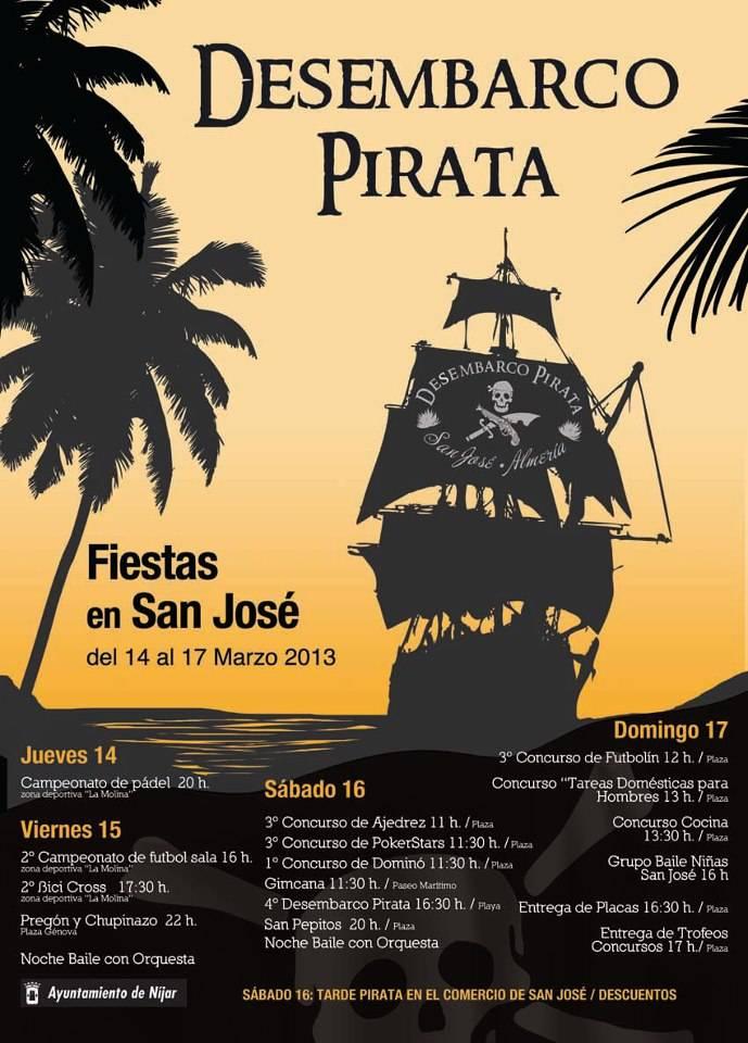 desembarco pirata san jose cabo de gata
