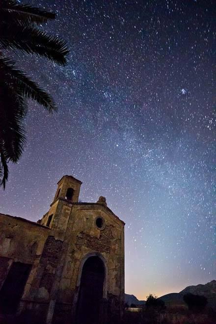 Noche Estrellada y Cortijo del Fraile de Antonio Luis Martinez