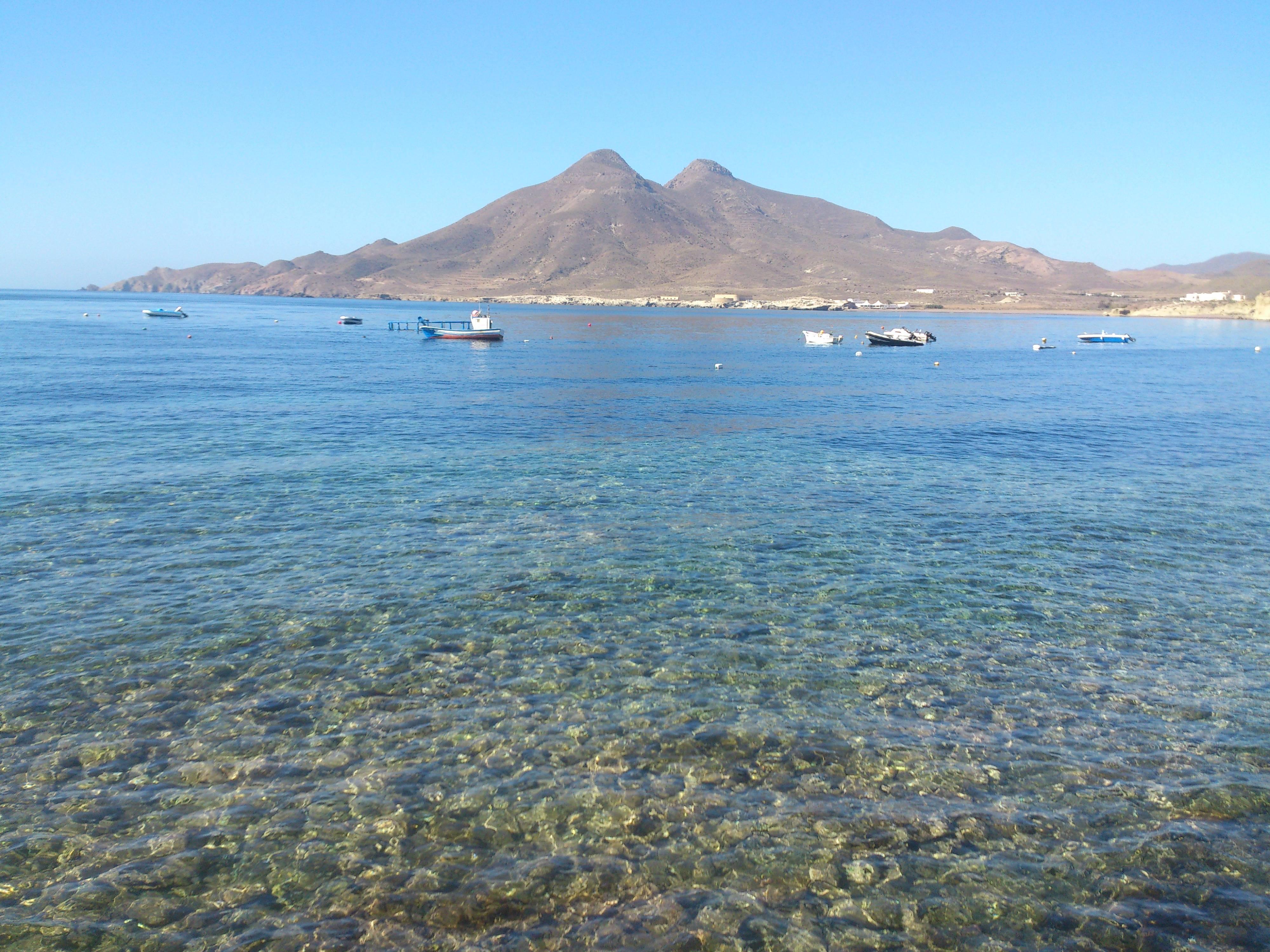 Los Frailes desde el Mirador de La isleta