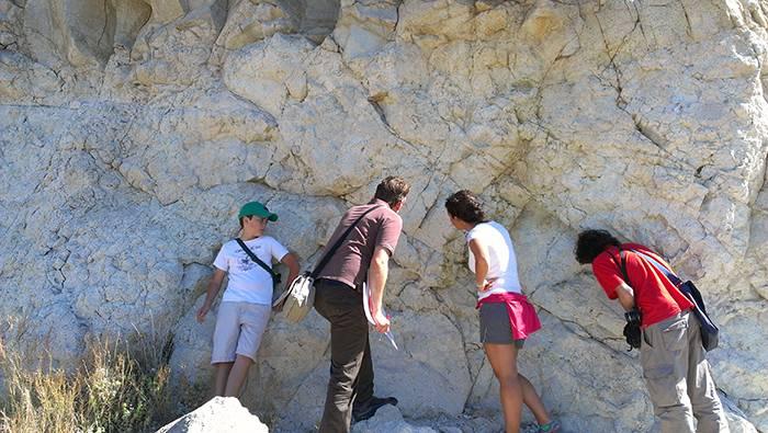 Geodía con Pablo Rivas  en el PN Cabo de Gata Níjar