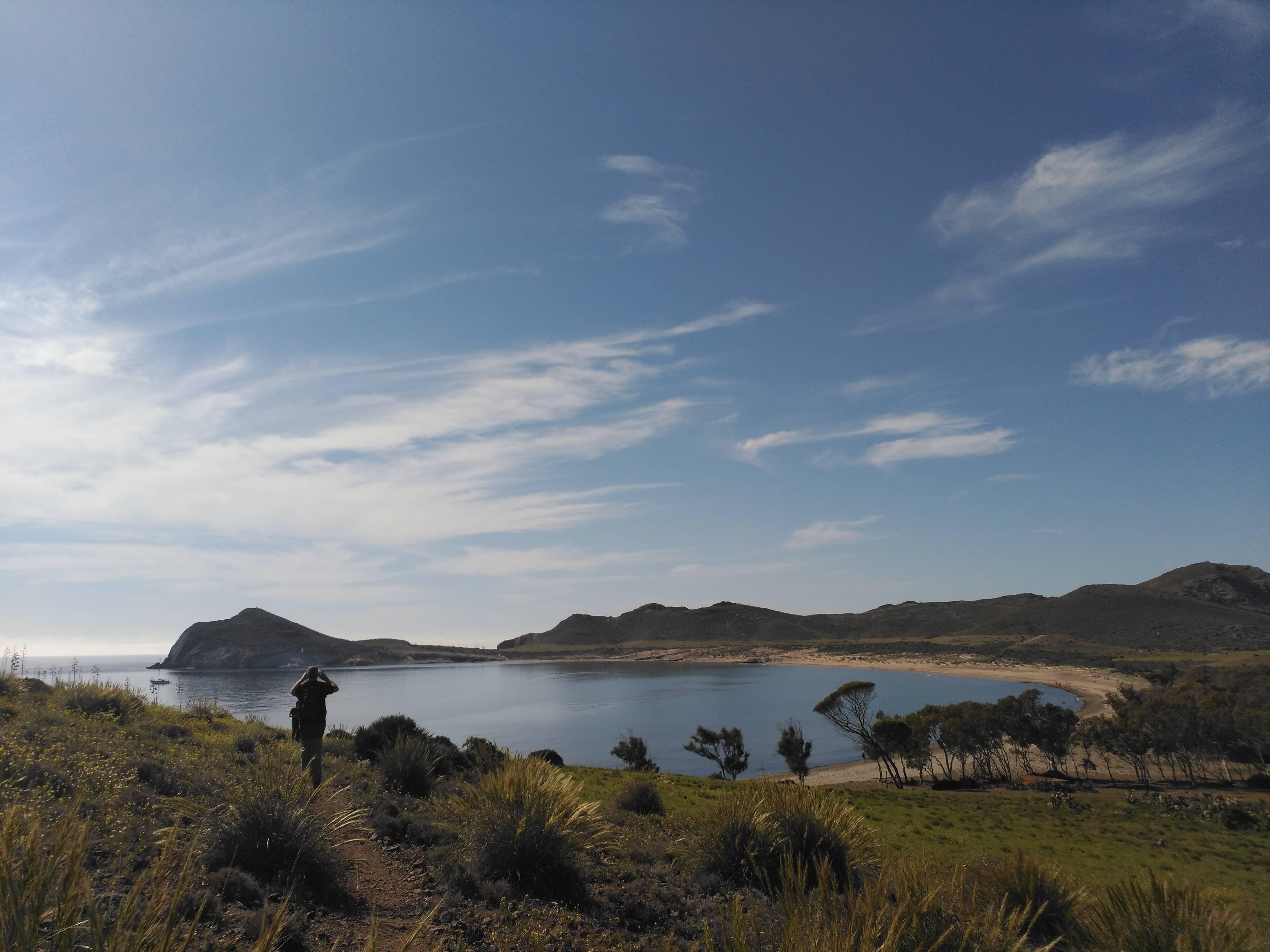 Paseo Fotografia Sendero Genoveses Parque Natural Cabo de Gata Níjar