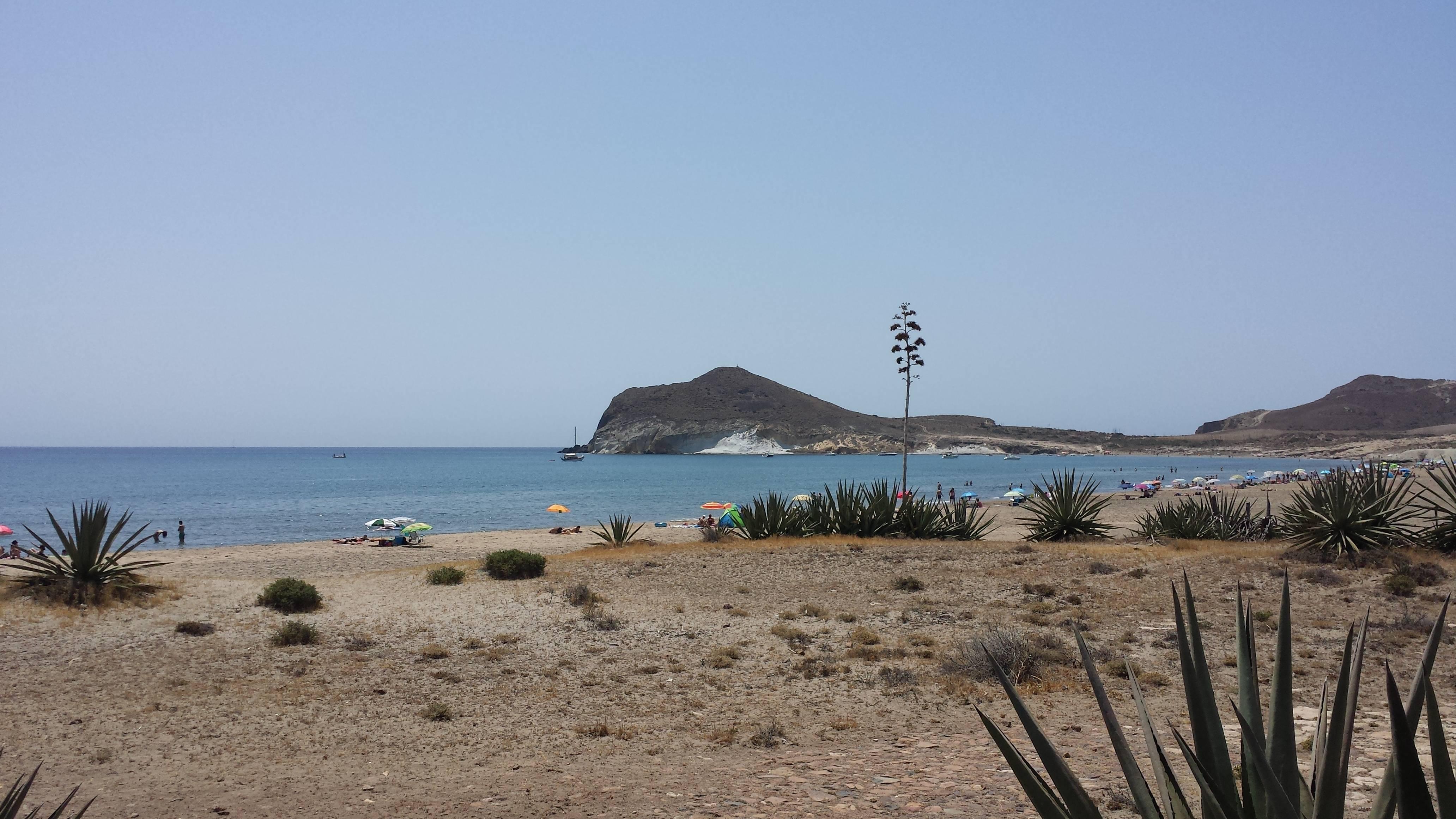 Bahía de los Genoveses PN Cabo de Gata Níjar Junio 2014