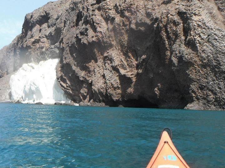 geologia y kayak cabo de gata