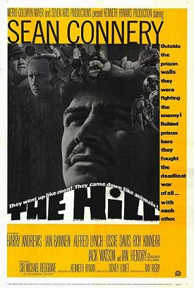 cartel de la pelicula la colina the hill 1965