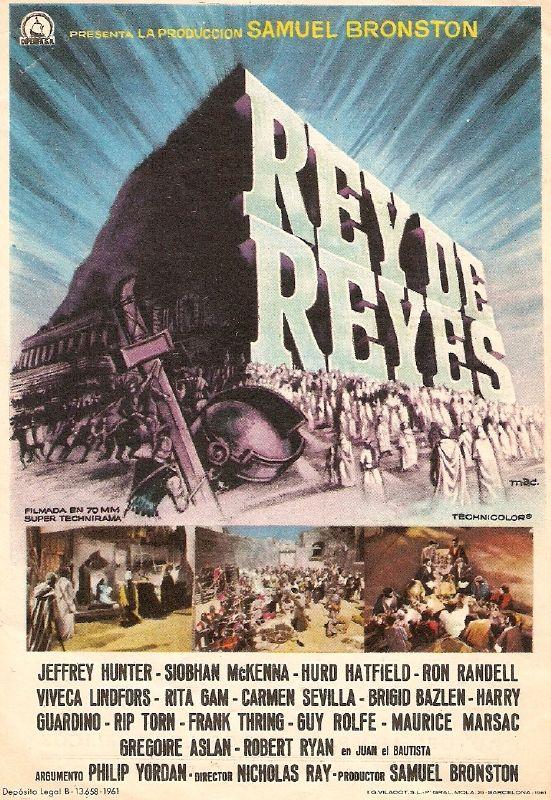 cartel de la pelicula rey de reyes 1961