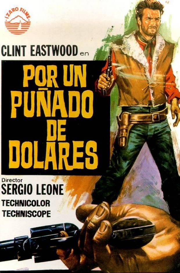 cartel de la pelicula por un puñado de dolares 1964