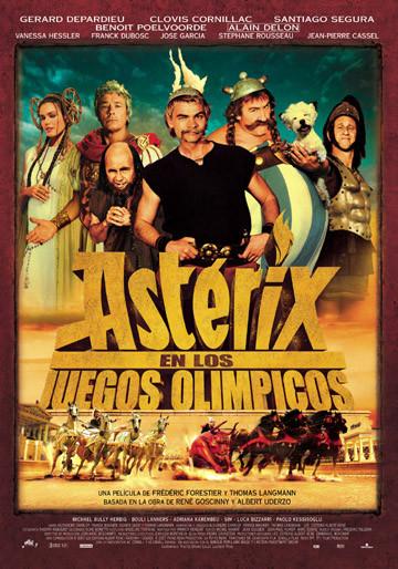 cartel de la pelicula asterix enlos juegos olimpicos 2008