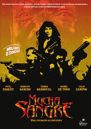 cartel de la pelicula mucha sangre 2002