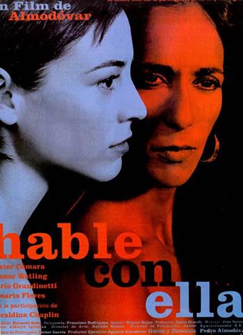cartel de la pelicula hable con ella 2002