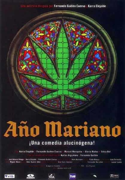 cartel de la pelicula año mariano 2000