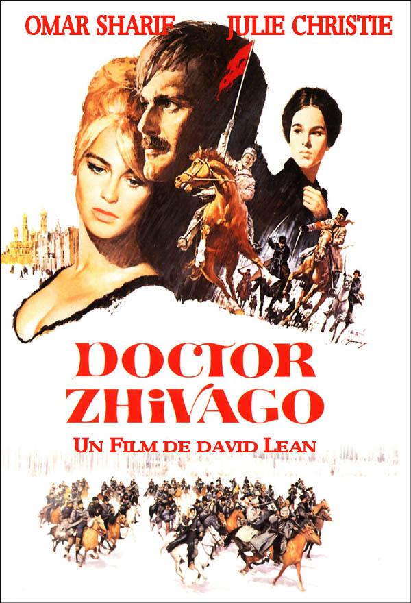 cartel de la pelicula doctor zhivago 1965