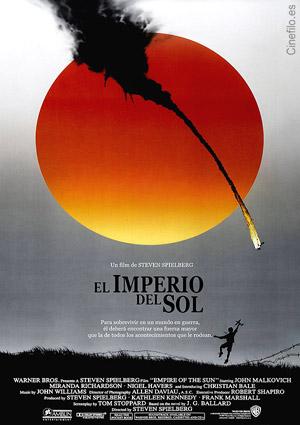 cartel de la pelicula el imperio del sol 1984