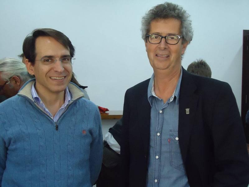 Juan Salvador Garcia y Rodolfo Caparros
