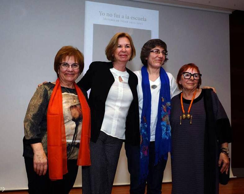 Autoras del libro  Yo no fui a la Escuela  Parque Natural Cabo de Gata Níjar