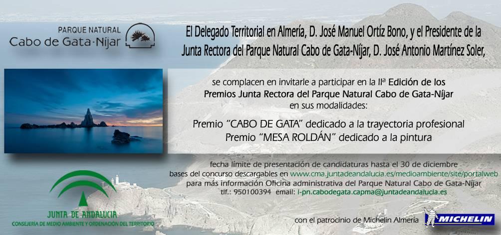 Premio Pintura Mesa Roldán PN Cabo de Gata Nijar
