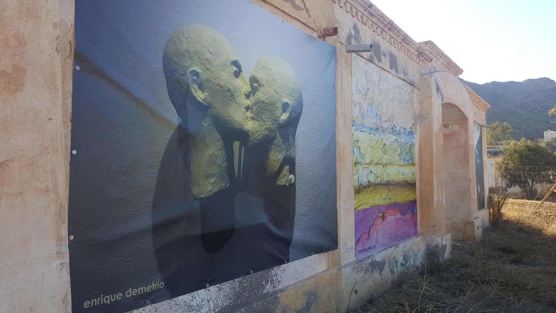 Rodalquilar ARTE Exposicion de Arte en las calles del Pueblo Minero de rodalquilar