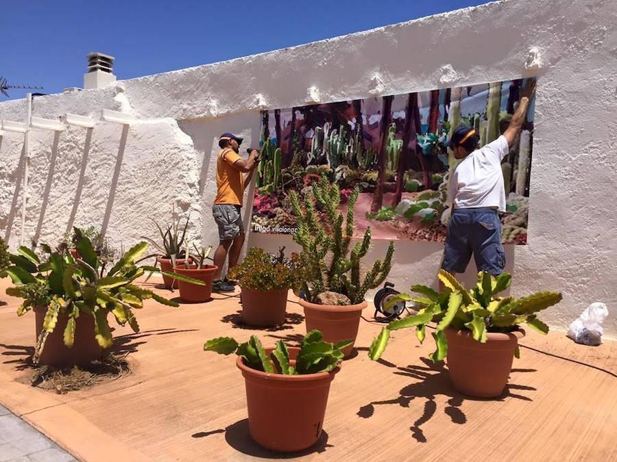 Rodalquilar ARTE Exposicion en Pueblo Minero de rodalquilar