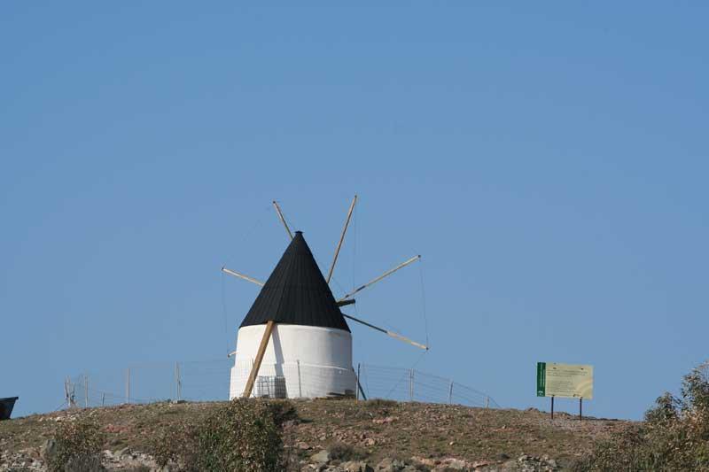 Molino de Los Genoveses Collao de Los Genoveses. Parque Natural de Cabo de Gata