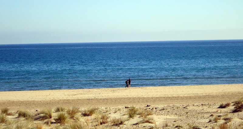 Playa de Los Genoveses. Parque Natural de Cabo de Gata