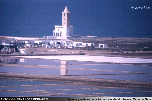 Iglesia y Salinas de la Almadraba de Monteleva Cabo de Gata