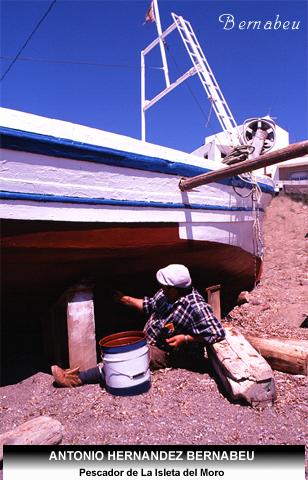 Pescador de la Isleta del Moro Cabo de Gata