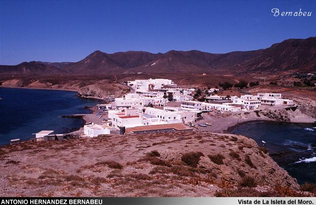 Vista isleta del Moro