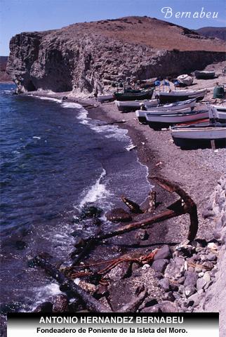 Fondeadero de Poniente Isleta del Moro Cabo de Gata