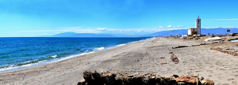 Playa de Las Salinas ,Cabo de Gata