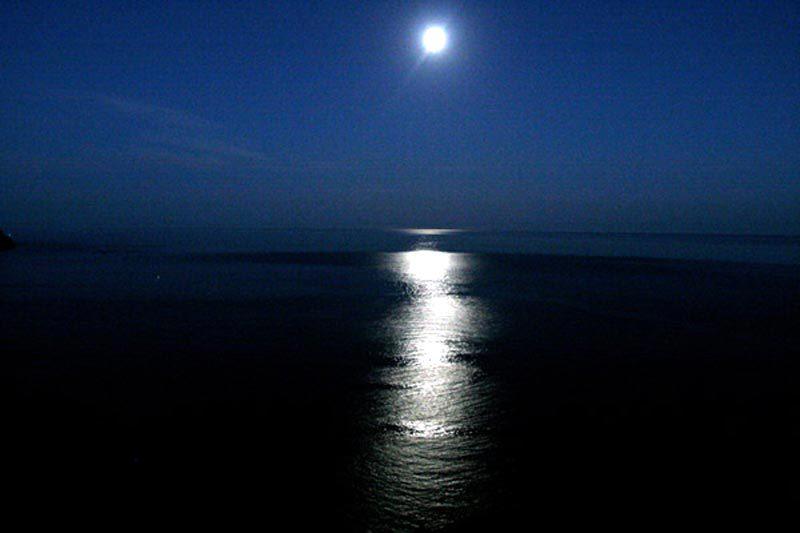 Noches en la playa de San José