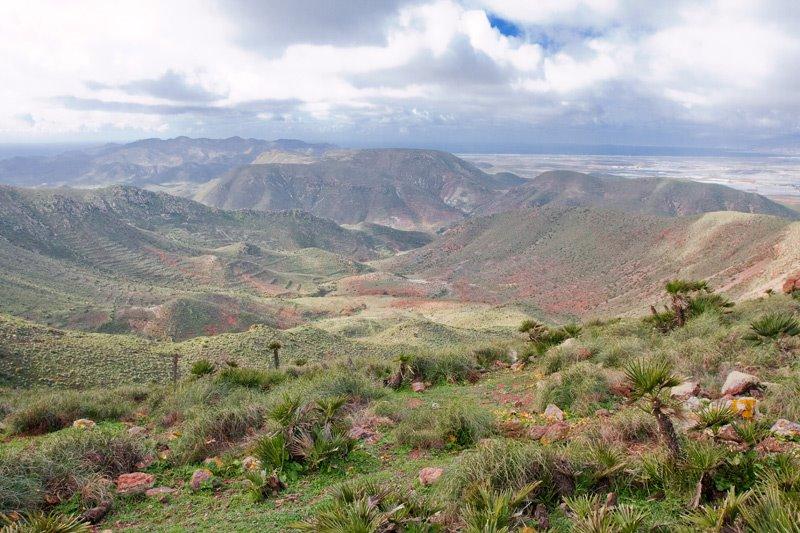 calderas volcanicas en majada redonda las presillas cabo de gata