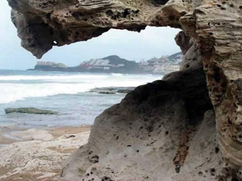 Parque natural de arena de 24 horas