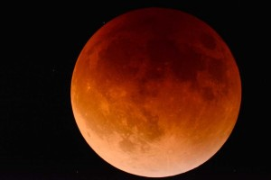 Eclipse lunar 2018 de Luna  Roja