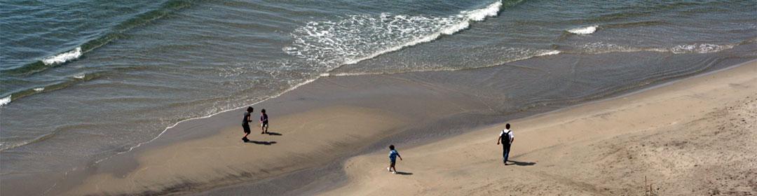 Andar por las playas de cabo de gata