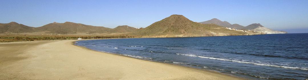 Playa de Los Genoveses Parque Natural de Cabo de Gata