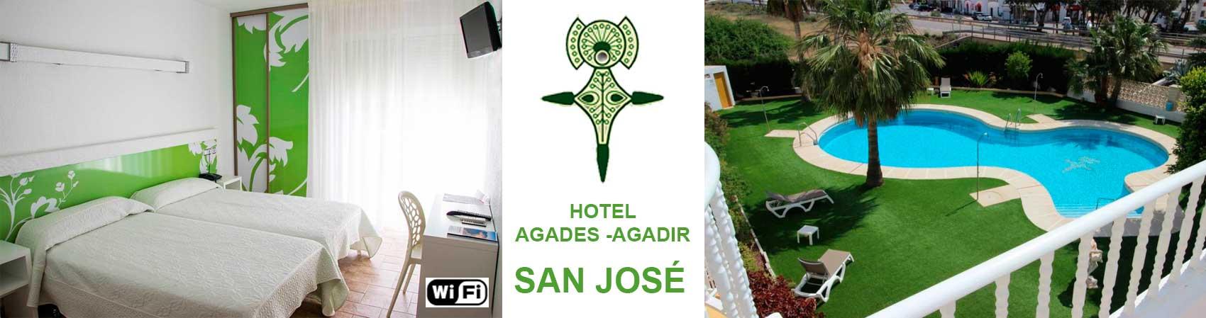Hotel Agades en Cabo de Gata Almeria