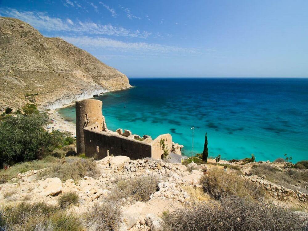 Castillo Cala San Pedro Cabo De Gata Almeria