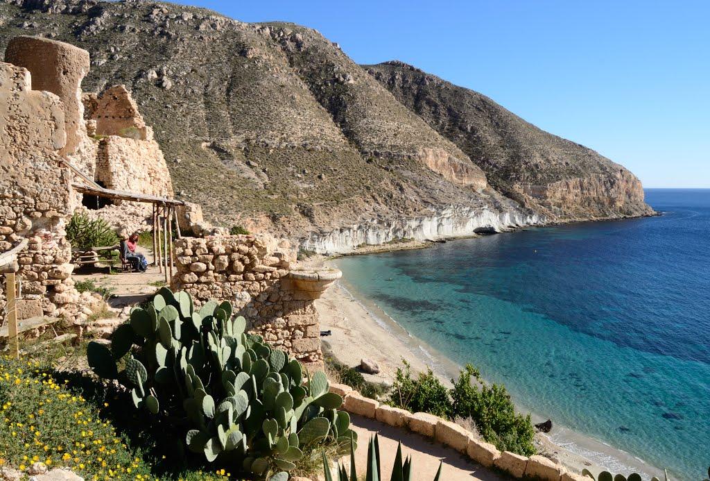 Kayak Cala San Pedro Cabo De Gata Almeria 1
